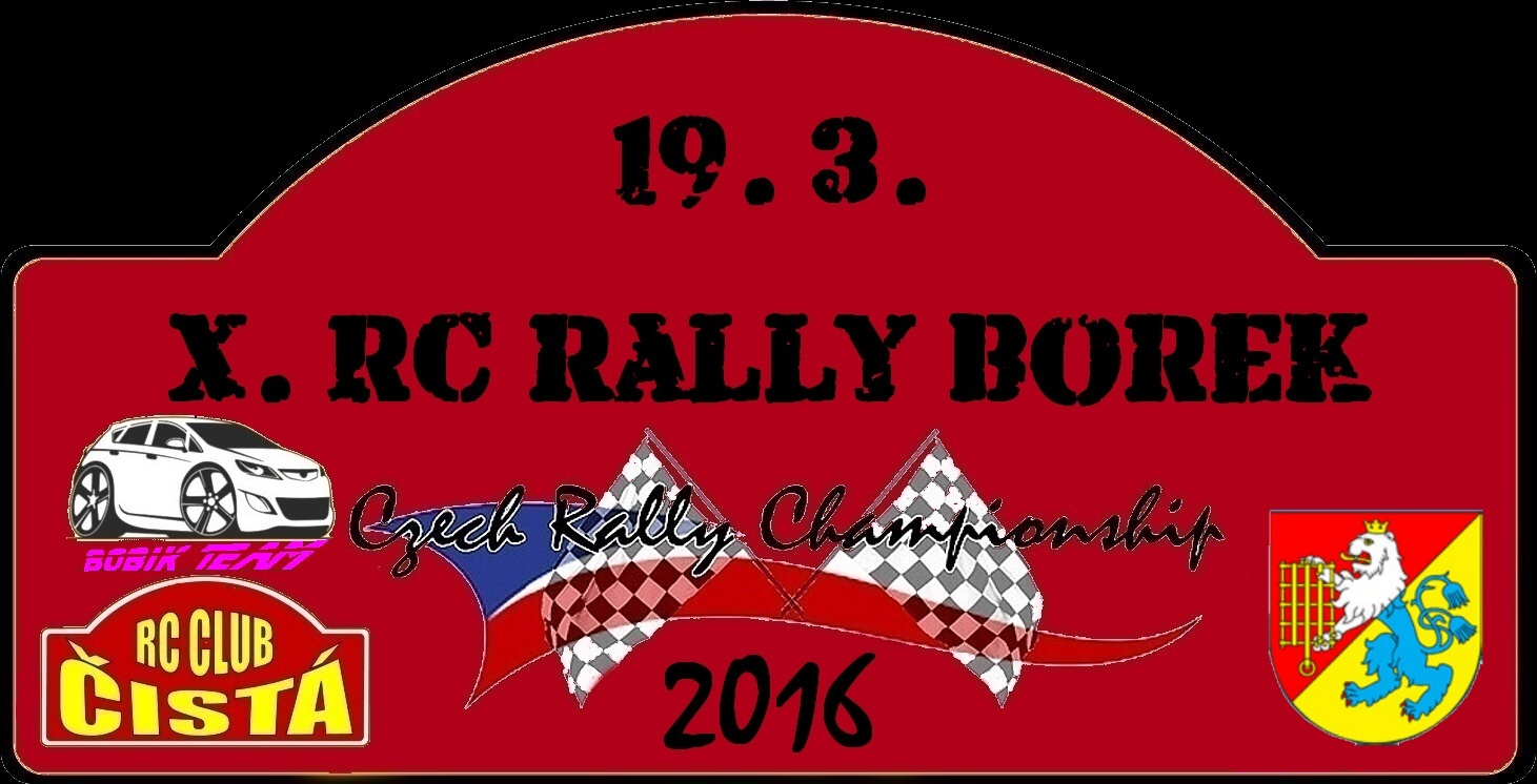 10.  RC Rally BOREK 2016